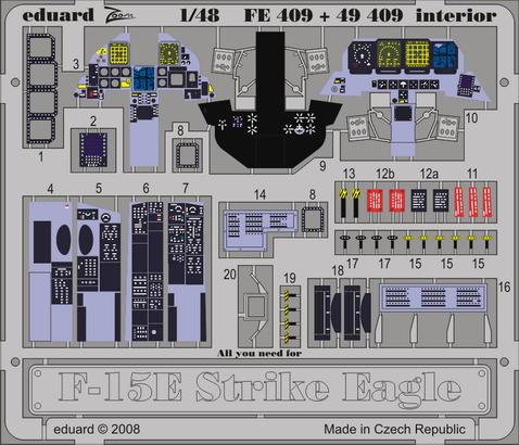 F-15 interior S.A. 1/48