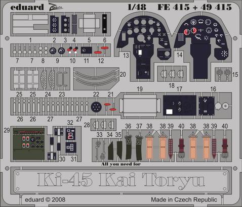 Ki-45 Kai Toryu S.A. 1/48