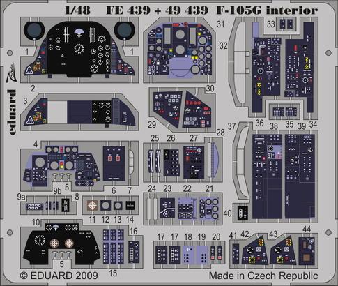F-105G interior S.A. 1/48
