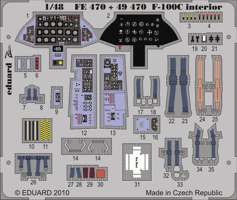 F-100C interior S.A. 1/48