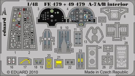A-7A/B interior S.A. 1/48