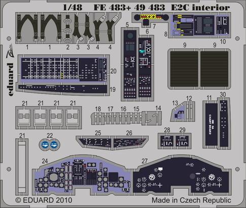 E-2C interior S.A. 1/48