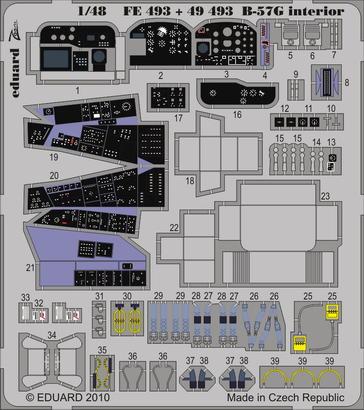 B-57G interior S.A. 1/48