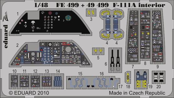 F-111A interior S.A. 1/48
