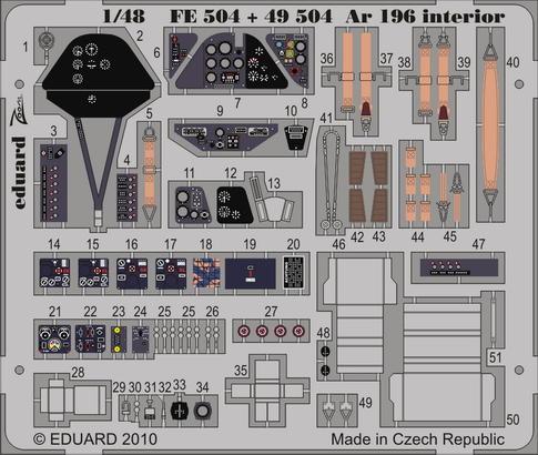 Ar 196 interior S.A. 1/48
