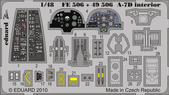 A-7D interior S.A. 1/48