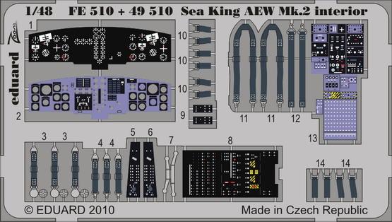 Sea King AEW Mk.2 interior S.A.. 1/48