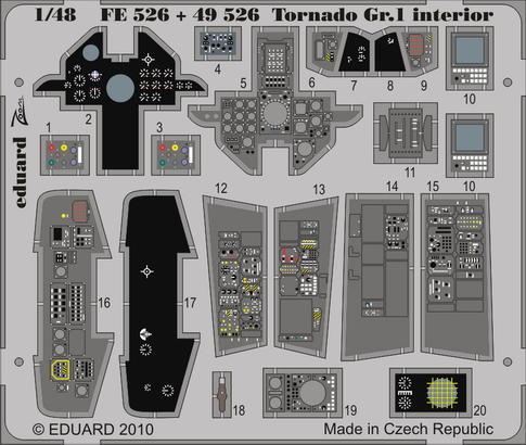 Tornado Gr.1 interiér S.A. 1/48