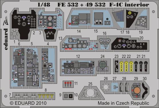 F-4C interior S.A. 1/48