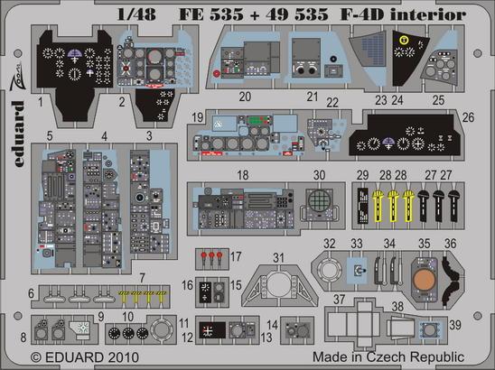 F-4D interior S.A. 1/48