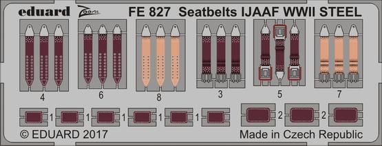 Upínací pásy IJAAF 2sv.v. OCEL 1/48