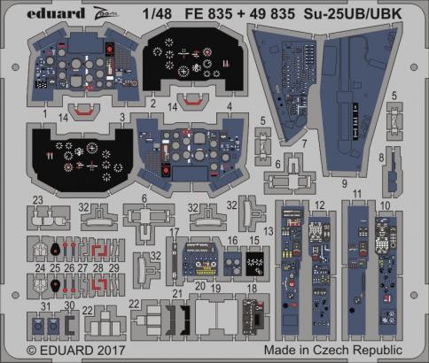 Su-25UB/UBK 1/48