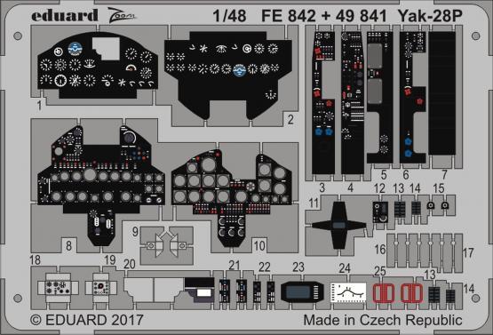 Yak-28P 1/48