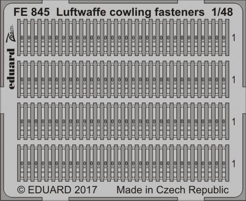 Luftwaffe замки капота 1/48