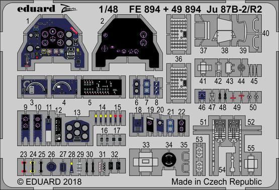 Ju 87B-2/R2 1/48