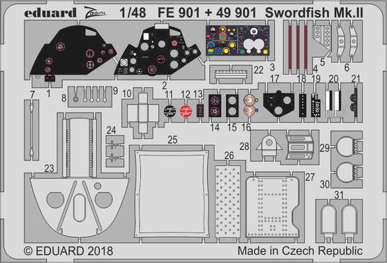 ソードフィッシュ Mk.II 1/48  - 1