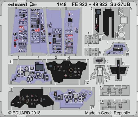 Su-27UB interior 1/48  - 1