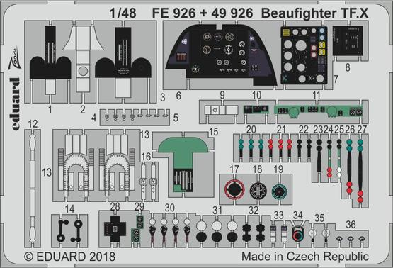 Beaufighter TF.X 1/48  - 1