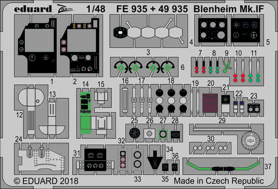 Blenheim Mk.IF 1/48  - 1