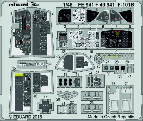 F-101B interior 1/48  - 1