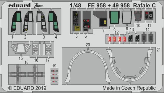 Rafale C interior 1/48  - 1