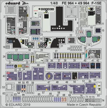F-15E interior 1/48  - 1