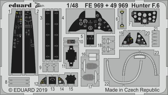 ハンター F.6 1/48  - 1