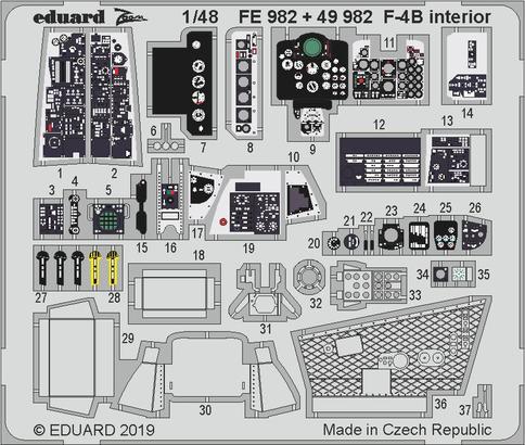 F-4B interior 1/48  - 1