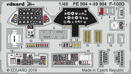 F-100D interior 1/48  - 1