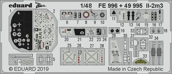 Il-2m3 内装 1/48  - 1