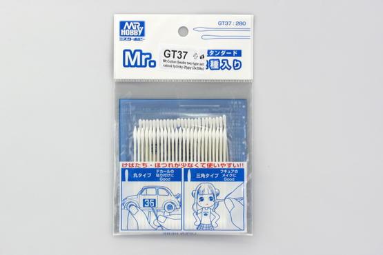 Mr.Cotton Swabs - vatové tyčinky, 2 typy, 2x25ks  - 1