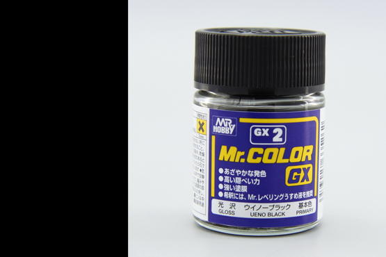 Mr.Color - černá 18ml