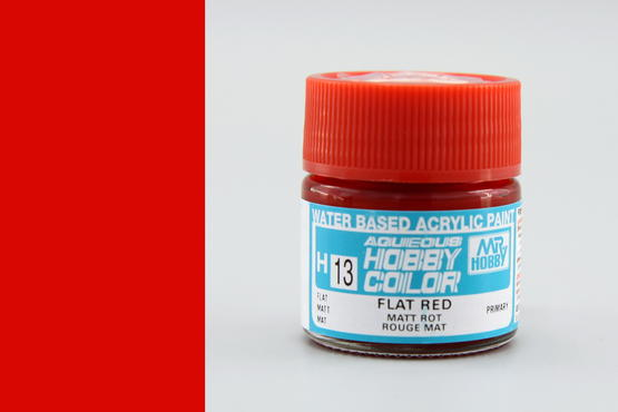 Hobby color - flat red