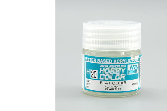 Hobby color - flat clear
