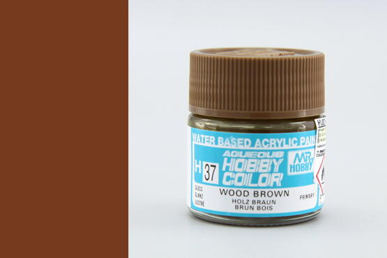 Hobby color - wood brown