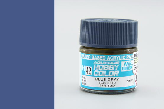 Hobby color - blue gray