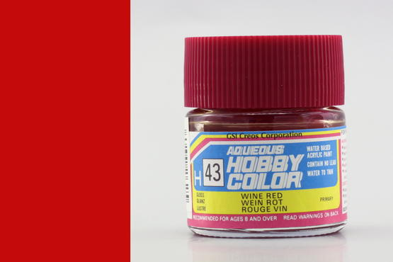 Hobby color - Wine Red