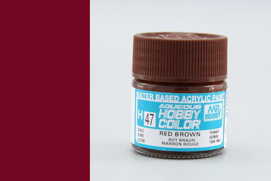 Hobby color - red brown