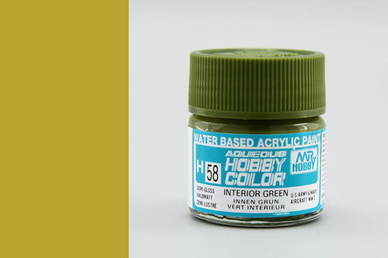 Hobby color - interior Green