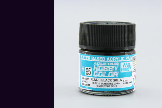Hobby color - RLM70 black green