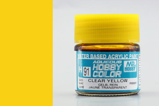 Hobby color - Clear Yellow