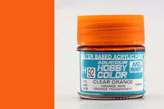 Hobby color - Clear Orange