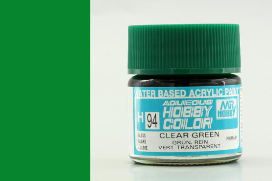 Hobby color - Clear Green