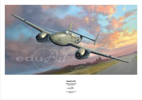 Plakát - He 280