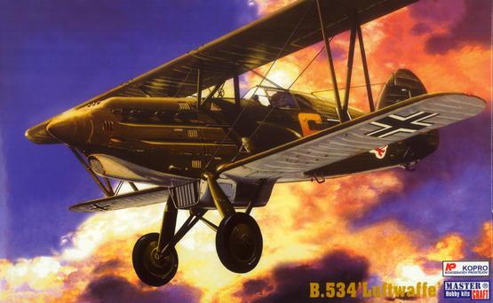 """Avia B.534 """"Luftwaffe"""" 1/72  - 1"""