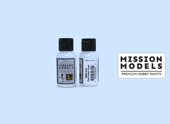Mission Models Paint - Flat Clear Coat 30ml