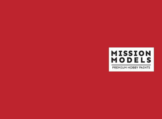 Mission Models Paint - Red 30ml