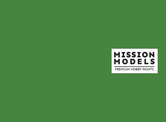 Barva Mission Models - zelená 30ml