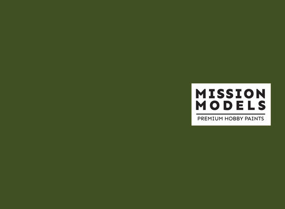 Mission Models Paint - Olivegrun RAL 6003 30ml
