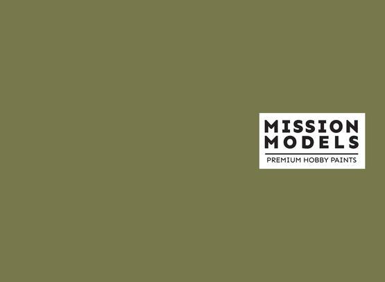 Mission Models Paint - Grunbraun RAL 8000 30ml